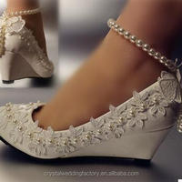 Real High Quality Pointed Toes Lace