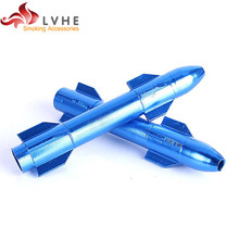 005PM LVHE High Quality Fancy Price List Tobacco Pipe Stems, Aluminum Pipe