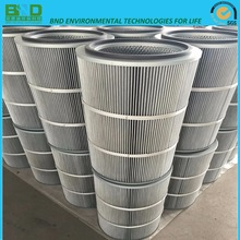 Smoke Pleated Filter Cartridge