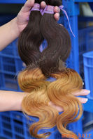 New Arrives!!! 100% Brazilian Virgin Hair Ombre Two Tone Weave