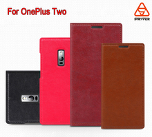 BX for OnePlus Two Case,[Kickstand] Wallet Leather Case with Stand, ID & Credit Card Pocket Flip Cover For One Plus 2 - Black