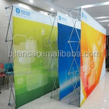 Pop Up Banner Stand Type High quality full velcro Pop Up Display for trade show