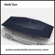 SUNCLOSE oxford sun protection car umbrella supplier , sun close car roof umbrella