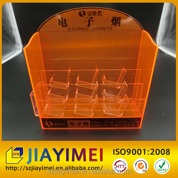Acrylic /plexiglass/perspex Cabinet electronic cigarette display