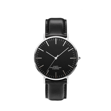 Private lable italian brand italian leather lover lady leather watches wholesale
