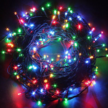 Decorative Christmas Twinkle LED Lights 80LED 33ft Color Changing Modes Fairy String Light