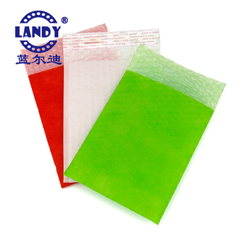 Customized color logo air bubble envelope nonwoven fabric bag