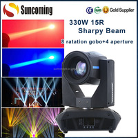 Professional Spot Wash Beam Effect 330w Sharpy 15r Moving Head Spot Light