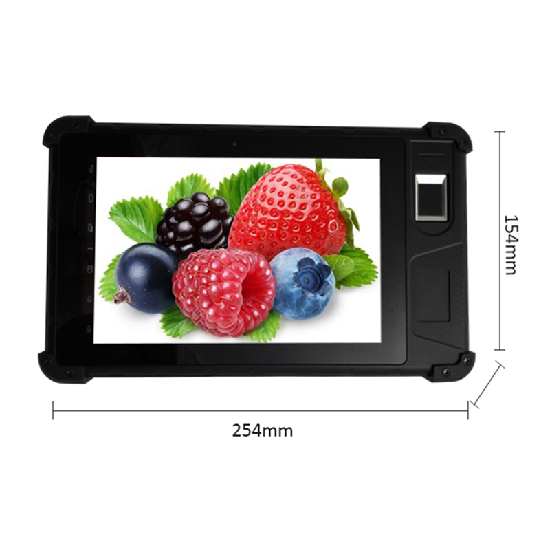 HF-FP08 Dual Android and Windows Fingerprint Tablet PC Windows <strong>10</strong>