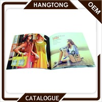 Custom design product a4 fashion advertising catalogue design printing with low cost