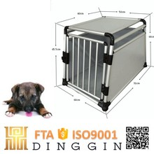 Travel pet aluminum dog cage