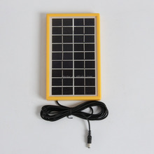 3W 9v solar modules with cables/tempered glass solar modules /small solar modules