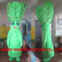 Life size good visual flowering Chinese Cabbage vegetable costume with soft plush finished fit all adult vegetable costume