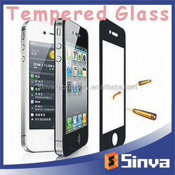 2015 new product for Samsung galaxy S6 tempered glass screen protector paypal fast delivery
