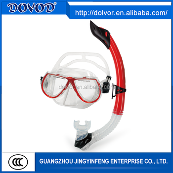 Silicone and PVC material available diving equipment fin mask and snorkel