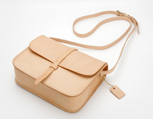 Boshiho vegetable tanned leather cross bag