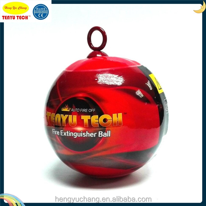 China 1.3kg ABC Powder Automatic fire fighting equipment ball Fire Extinguisher TY-1300H2