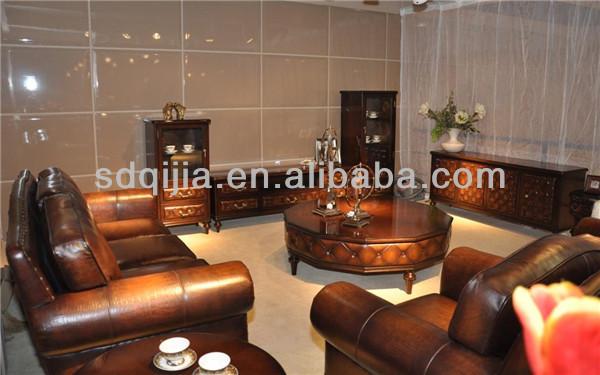 in stile americano classico di lusso divano in pelle ...