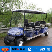 6 seater sightseeing electric golf cart bus on sale