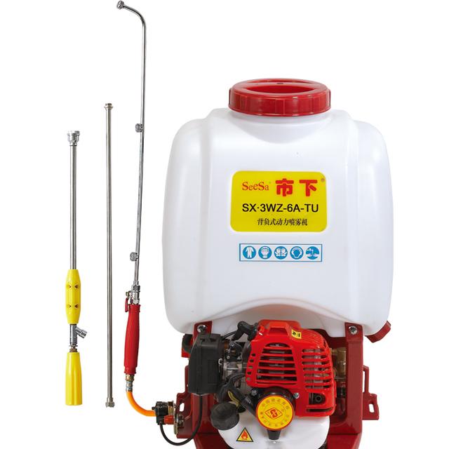 25L Agriculture Spray Machine Knapsack Power Sprayer Tu26 Engine