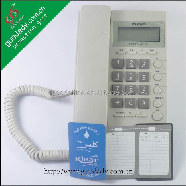 OEM Factory wholesale magnetic address book / custom magnet telephone book