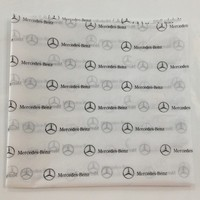 17g Customized printed brands logo tissue paper
