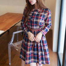 WAT1247 bright striped women fashion shirt dresses women dress China supplier