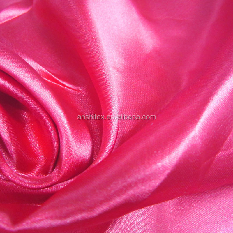 Polyester satin fabric roll tnt for sewing flower girl dress / party dress with flower patterns designs import fabrics china