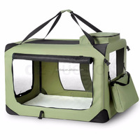 Portable and Foldable Pet Carrier / Soft Crate Cage Dog Cat Travel Bag Kennel