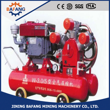 3CBM diesel piston mining air compressor outdoor use air compressor