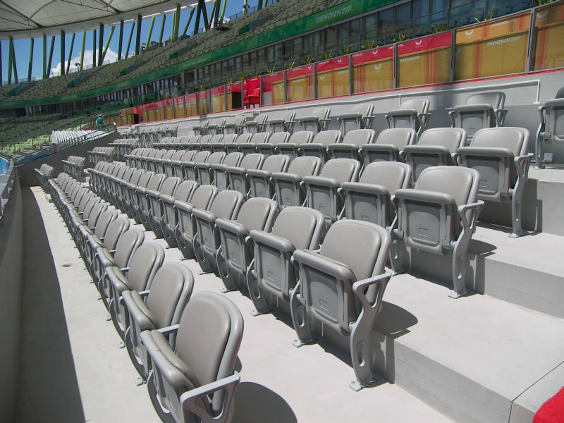 VIP public turndown stadium seat for school,theater,spectator,church,canteen,gym sports,entetainment,education