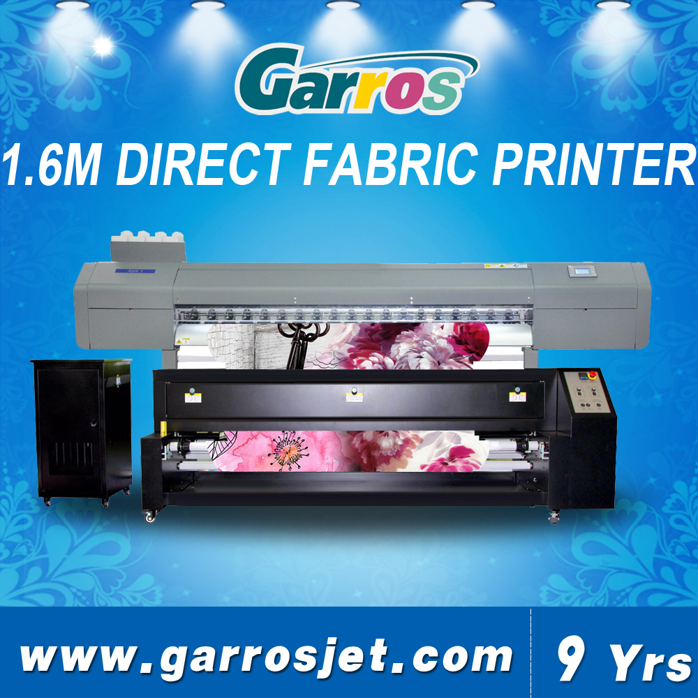 new style 1.6m plotter printer sublimation for fabric white polyester materials printing machine