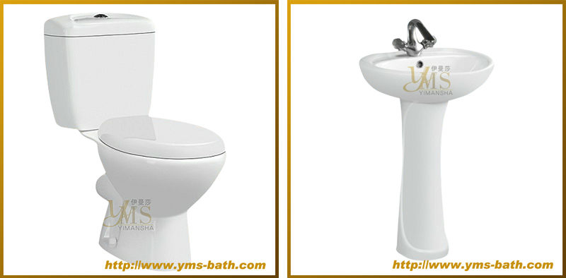 china chaozhou hot sale cheap ceramic two piece toilet price supplier