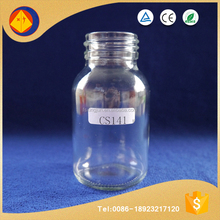 Factory price wholesale high quality food grade unbreakable round glass drinking water bottles
