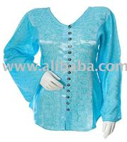 Renaissance Design Satin Peasant Ladies ~ Woman ~ Girls ~ Women's Top ~ Blouse ~ Shirt