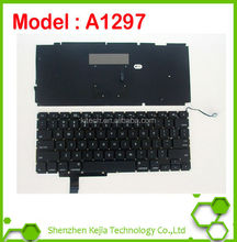"Replace Laptop keyboard for MacBook Pro A1297 17"" Unibody , US Layout , Black Color"