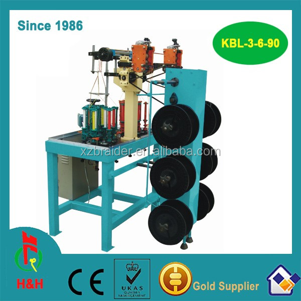 Braiding Cotton candle wick making machine