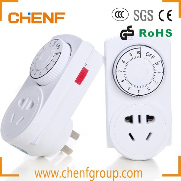 Hot Sell 10A/220V US 3 Pin Plug Energy Saving Home Timer Socket Outlet