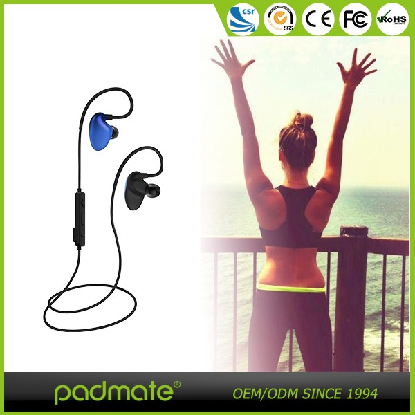new arrival product electronics stereo bluetooth sport headphones earhook earbuds