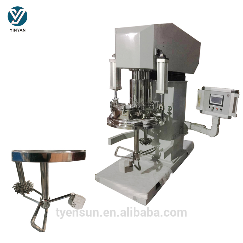 Customized dual shaft paint sealant mixer machine for sale