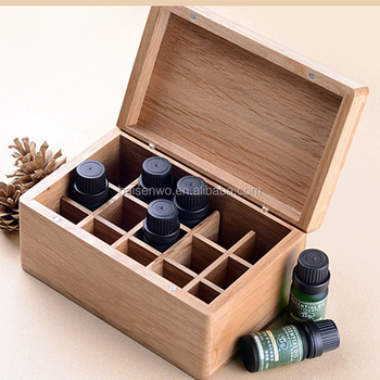 Solid wood wholesale high quality essential oil packaging boxes