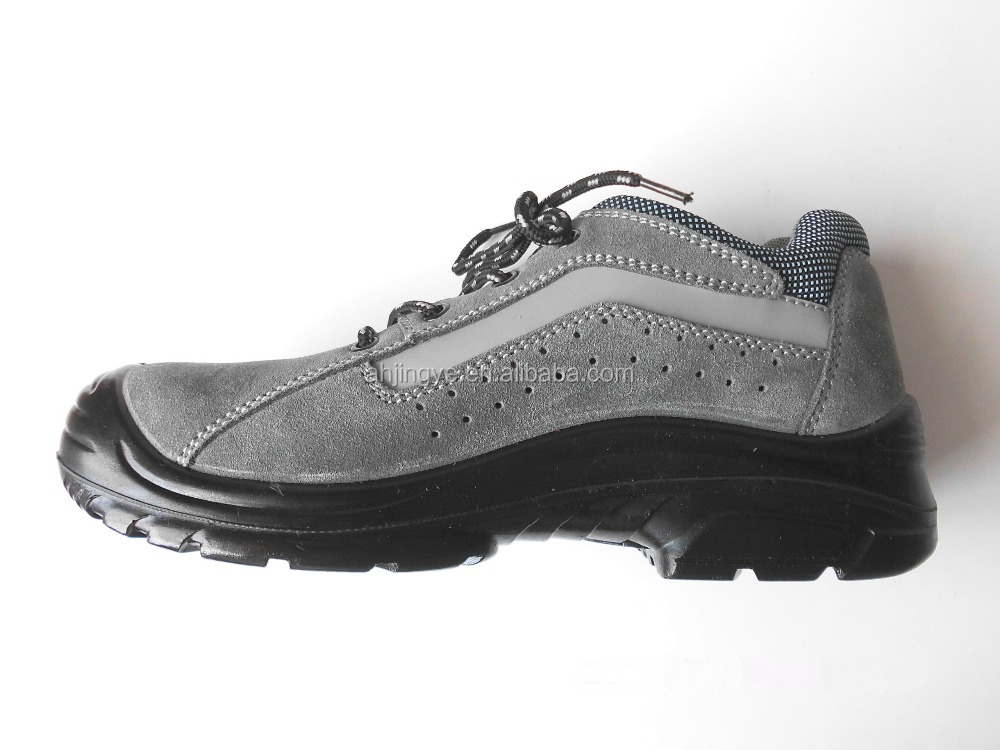 en 345 steel toe anti-slip PU outsole heat resistant safety shoes