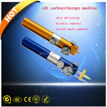 Korea technology CO2 cdt carboxy therapy machine wrinkle remove pen Injection Gun in china carboxy therapy equipment