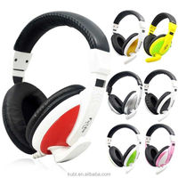 New headband 3.5mm data cable Kubite T-155 gaming headset computer headphone with mic earphone made in shenzhen factory