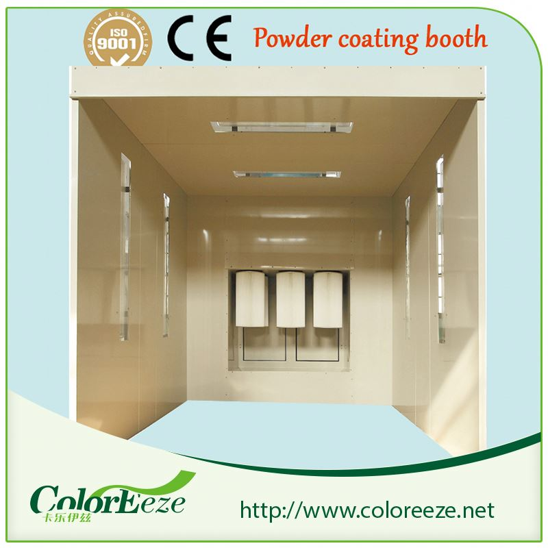 PCB-25001(D) Boat And Train Powder Painting Coating And Baking Spray Booth