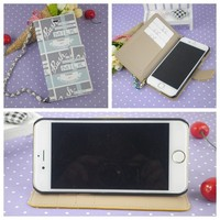 Hot selling wallet case for iphone 5 crown pouch women Bracelet bag phone wallet case for iphone4 5 6 plus with stand wholesale