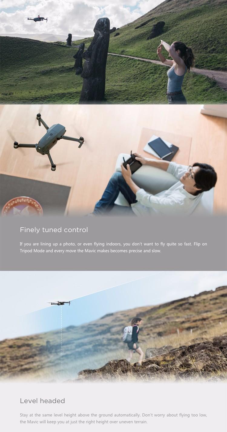 Guangzhou fornecedor original mavic pro drone RC quadcopter DJI com 4 K câmera HD