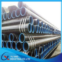 cement lined carbon steel pipe/price carbon steel pipe
