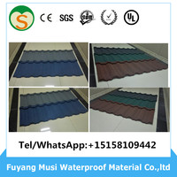 Aluminum roofing sheet stone coated steel metal roofing tiles