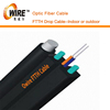 Good Performance 1,2,4 Core KFRP Drop Cable FTTH Fiber Cable Price with Messenger